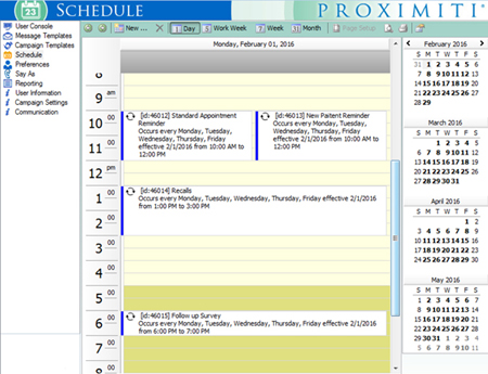 Campaign Manager flexible scheduling